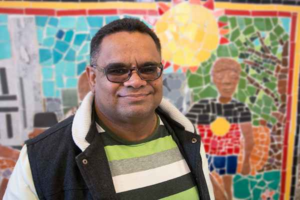 a picture of Brett Webb from Northern NSW Aboriginal Tenants' Advice and Advocacy Service