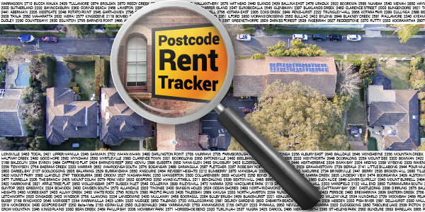 Postcode Rent Tracker graphic
