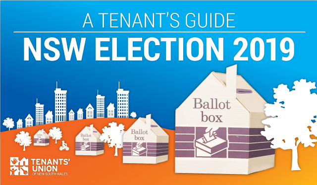 A tenant's guide to the NSW Election 2019