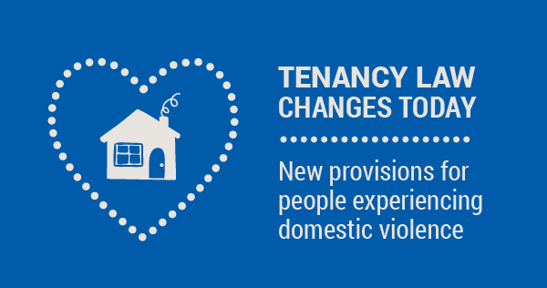 Domestic Violence Amendments to Residential Tenancies Act