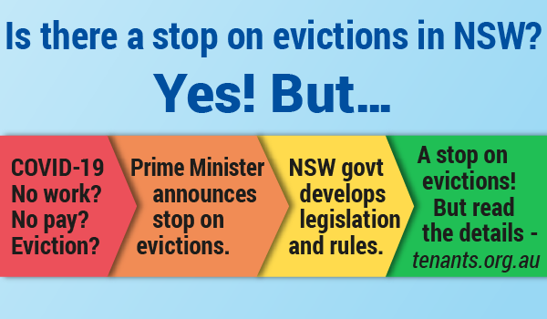 A stop on evictions! But...