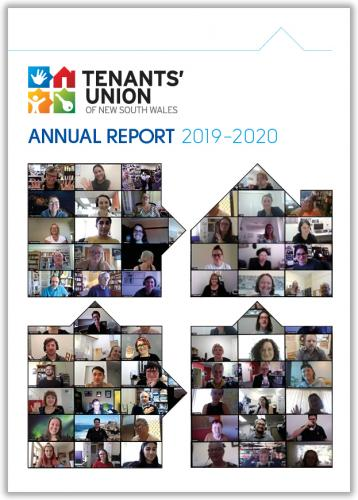 Tenants' Union Annual Report Cover