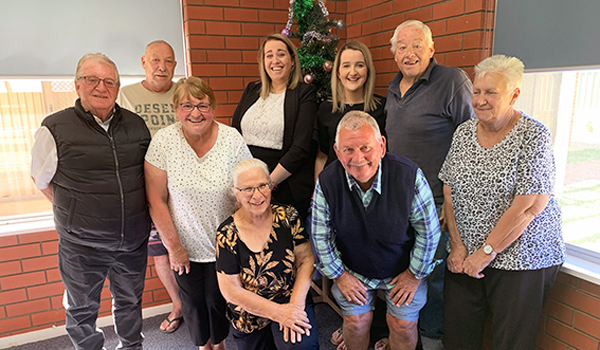 Home owners from Rivergum Holiday Retreat with Tenant Advocates