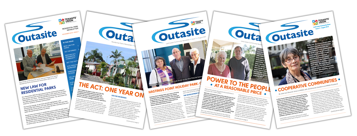 Outasite covers