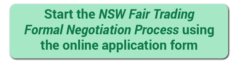 Start the NSW Fair Trading Formal Negotiation Process using the online application form