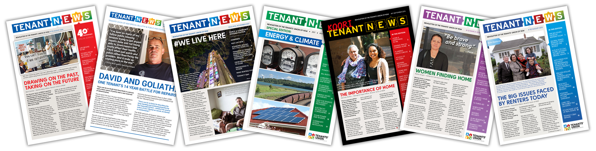 Tenant News covers